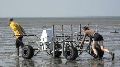 Measurements in the Wadden sea